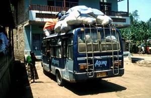 Indonesian bus