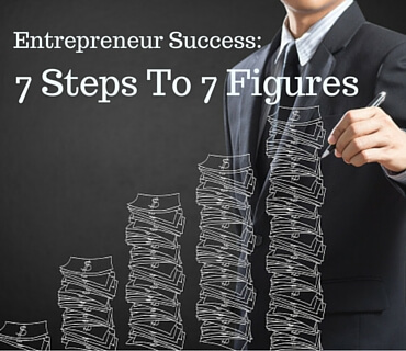Entrepreneur Success 7 Steps To 7 Figures Post