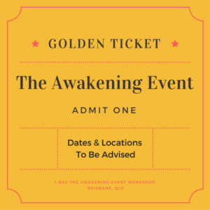 awakening event ticket