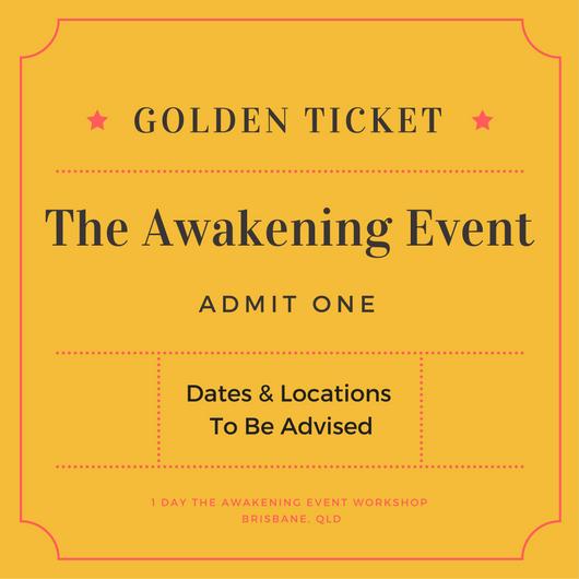 awakening event ticket