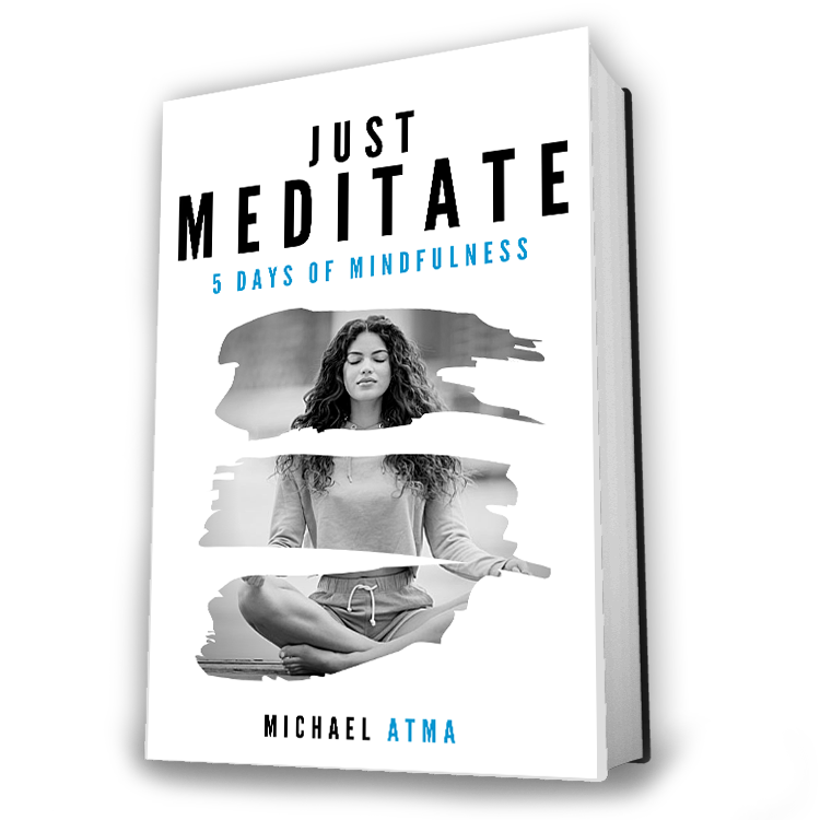 Just Meditate book written by Michael Atma